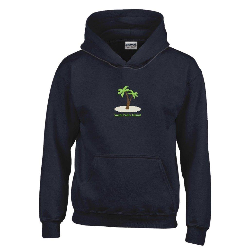 Kids Sweatshirt Texas Palm Tree Youth Hoodie South Padre Island
