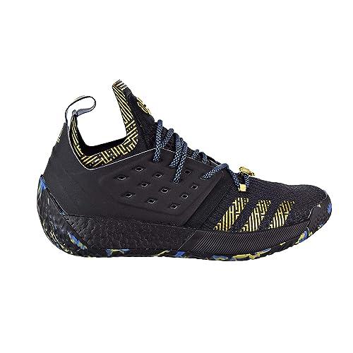 1a263e8dd18 Adidas Harden Vol. 2 MVP Shoe Men s Basketball 13.5 Core Black-Gold  Metallic-