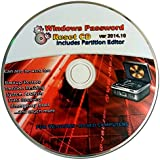 Recovery Boot Password Reset CD - Works with Windows 7 / XP / 2000 / 98 - NEW 2015 Version!