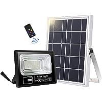 Lámparas solares para exteriores, 49 LED, lámpara solar exterior, mando a distancia…