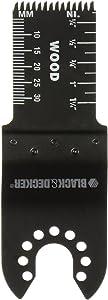 "Black & Decker BDA1212 Oscillating Tool Accessories 1"" Precision Plunge Cut Blade"