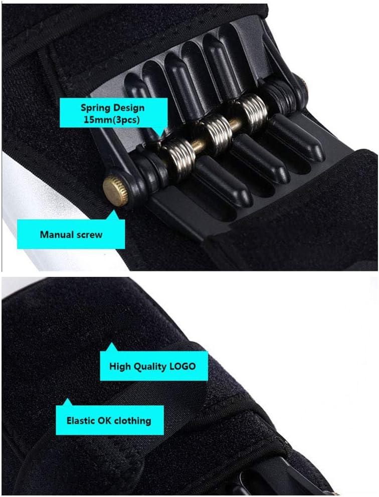 B/&H-ERX Kniesch/ützer Joint Support Kniesch/ützer Breathable Anti-Rutsch-Power Lift Kniesch/ützer Zugstufe Federkraft Knie Booster Beinsch/ützer