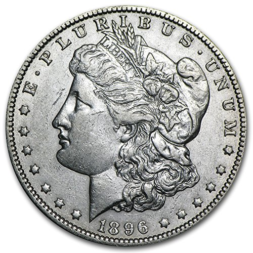 1896 O Morgan Dollar AU $1 AU-50