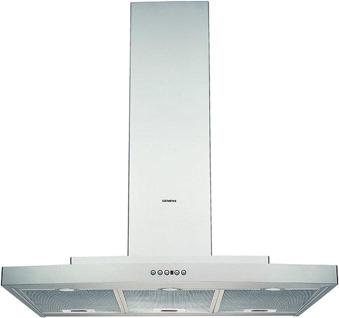 Siemens LC66971 - Campana (400 m³/h, Canalizado/Recirculación, 24 dB, De pared, Acero inoxidable, 20 W): Amazon.es: Hogar