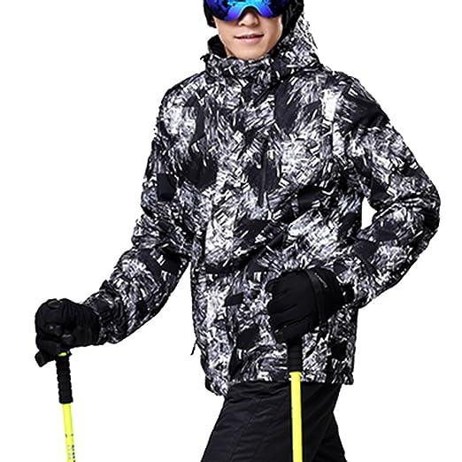 c2eb9ed583e392 Sportbekleidung iPretty Skianzug Herren Skijacke Outdoorjacke Regenjacke  mit kapuze Softshell Jacke wasserdicht atmungsaktiv Funktionsjacke