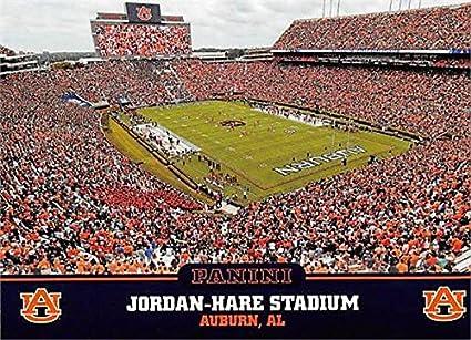 Jordan Hare Stadium Football Card Auburn Tigers 2016