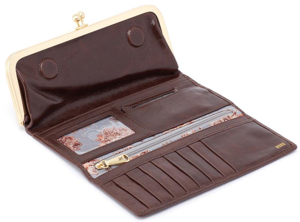 Hobo Womens Rachel Vintage Wallet Leather Clutch Purse (Espresso) by HOBO (Image #2)