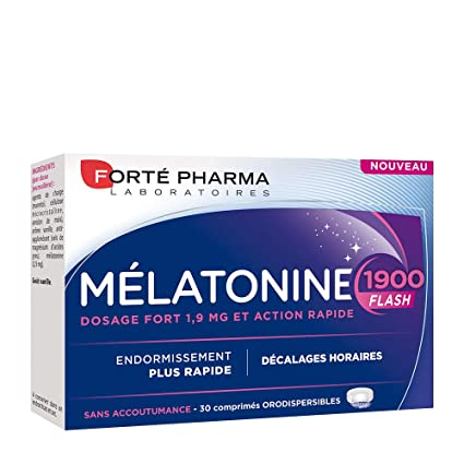 FORTE PHARMA MELATONINA 1900 FLASH 30 COMPRIMIDOS: Amazon.es: Salud ...