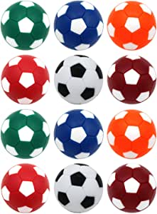 Winthai 12 PCS 32mm Mini Mesa de fútbol Bola de Cambio de Bolas de ...