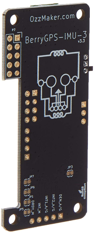 Accelerometer Gyroscope Magnetometer and Barometric//Altitude Sensor BerryGPS-IMUv2 GPS and 10DOF for The Raspberry Pi