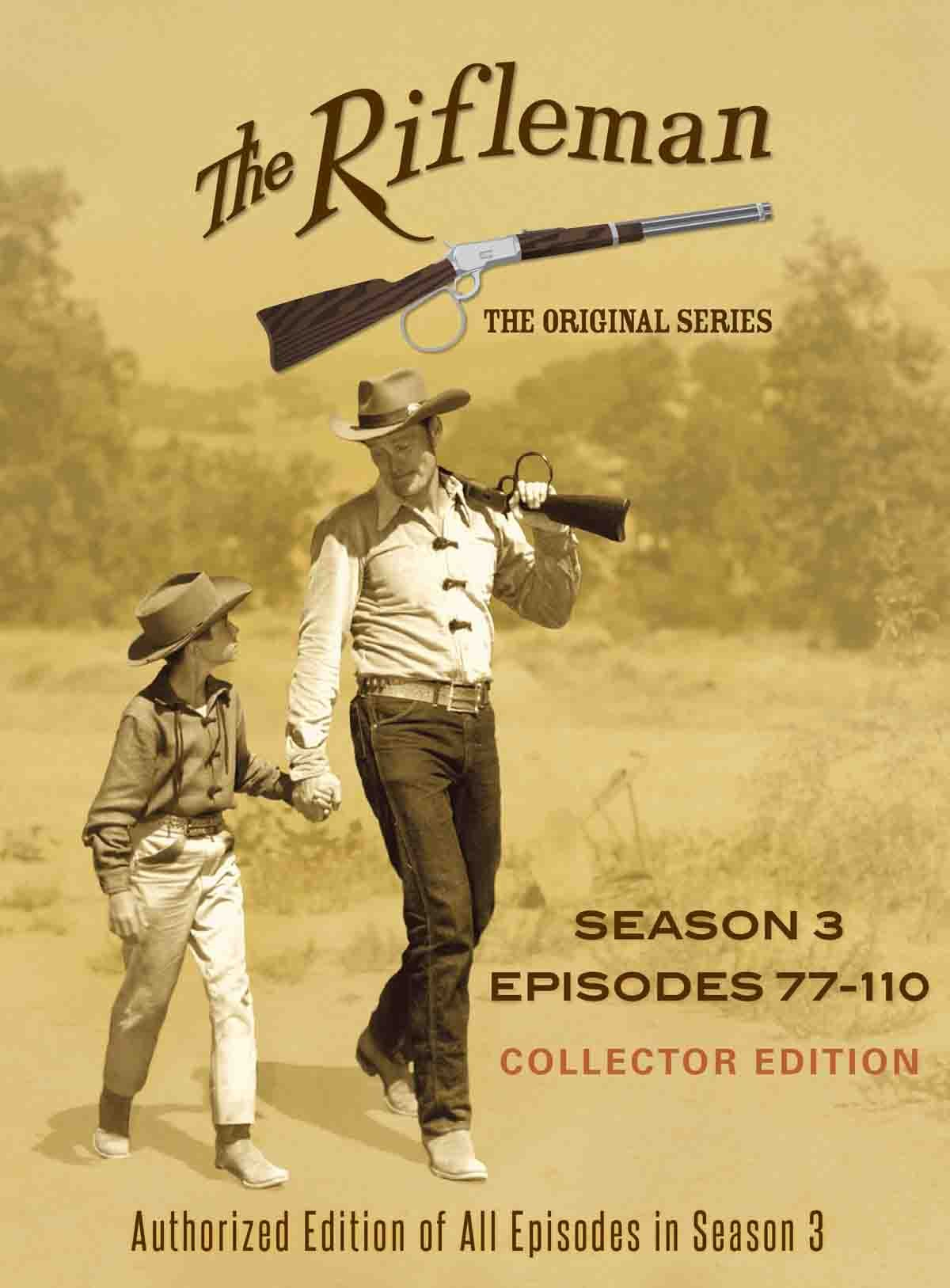 The Rifleman Official Season 3 (Episodes 77 - 110) by Levy-Gardner-Laven Productions, Inc.