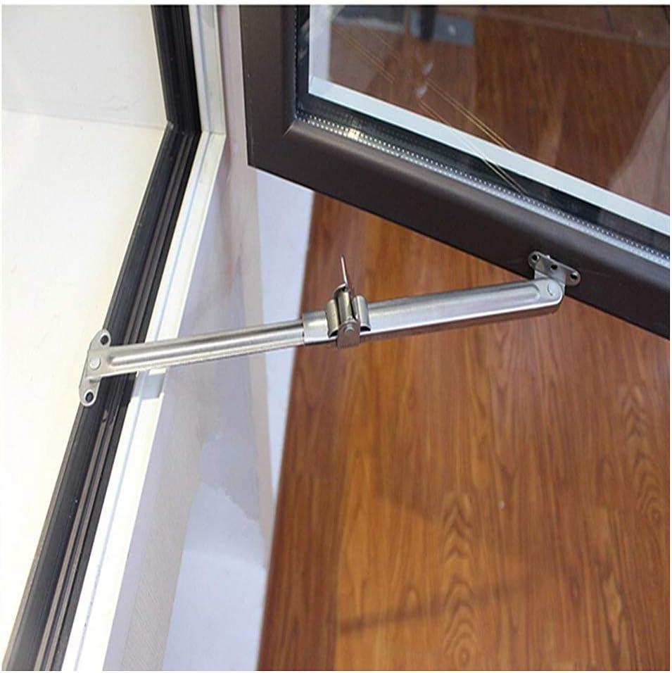 Fenster Strut Zubeh/ör Fenster Limiter Chu Einstellbare Wind Brace Edelstahl-Fenster-Fl/ügelfenster-Aufenthalt