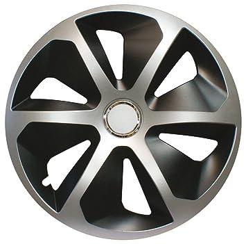 CORA 41944 4 Universal Aluminio Look ROCO Mix Tapacubos, 14, Set de 4: Amazon.es: Coche y moto