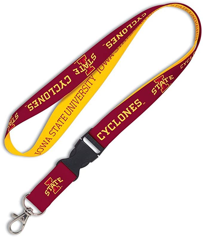 WinCraft Wisconsin Badgers Official NCAA 20 inch Lanyard Key Chain Keychain by 545206