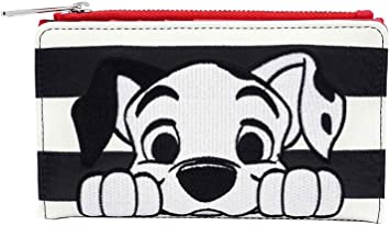 Loungefly x Disney 101 Dalmatiens Mini sac /à dos en similicuir ray/é