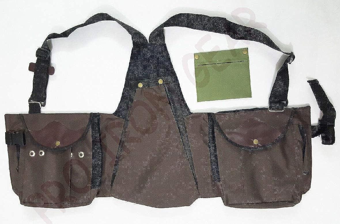 Bird Handling Codura Vest Hawking Falconry Vest Black XXL /& XXXL Hunting