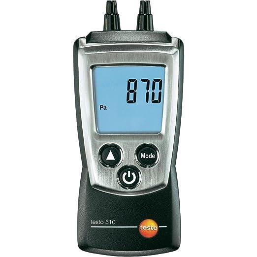 2 opinioni per Testo 0560 0510 510, Misuratore di pressione differenziale, incl. cappucci di