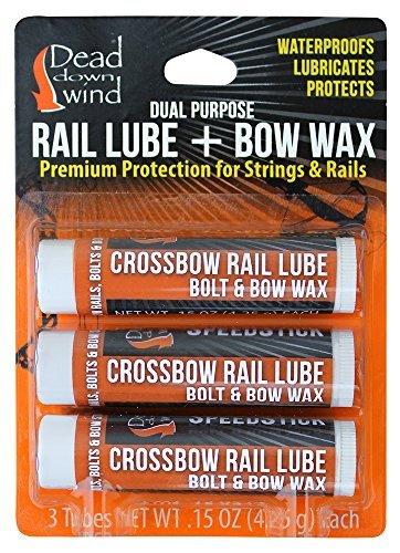Dead Down Wind Rail Lube/Bow Wax (3pack)