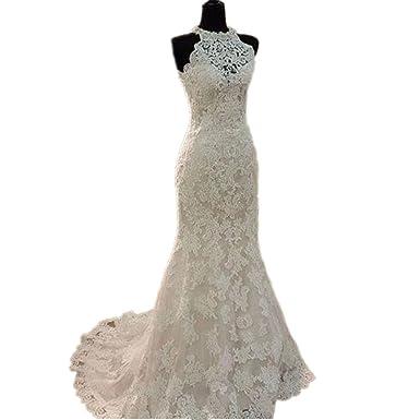 High Neck Vintage Dress