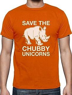 a6d78f7f2 Save The Chubby Unicorns Rhino Hipster Beat Wildlife Extinction Men's T- Shirt