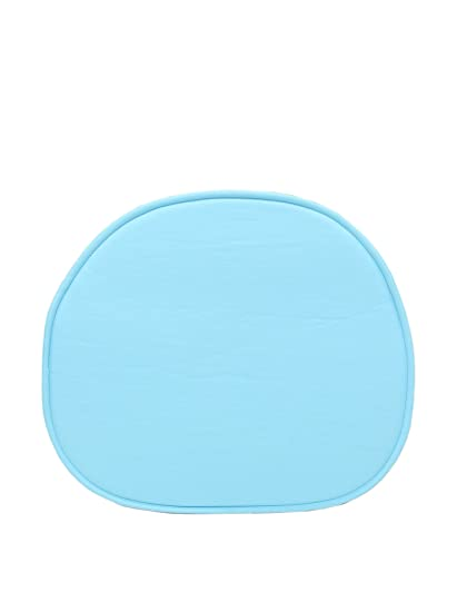 ARYANA HOME Cojín Silla Eames réplica, Piel sintética, Azul, 40x36