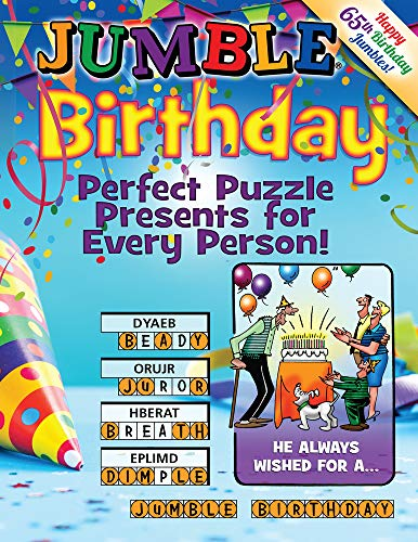 Pdf Humor Jumble® Birthday: Perfect Puzzle Presents for Every Person! (Jumbles®)