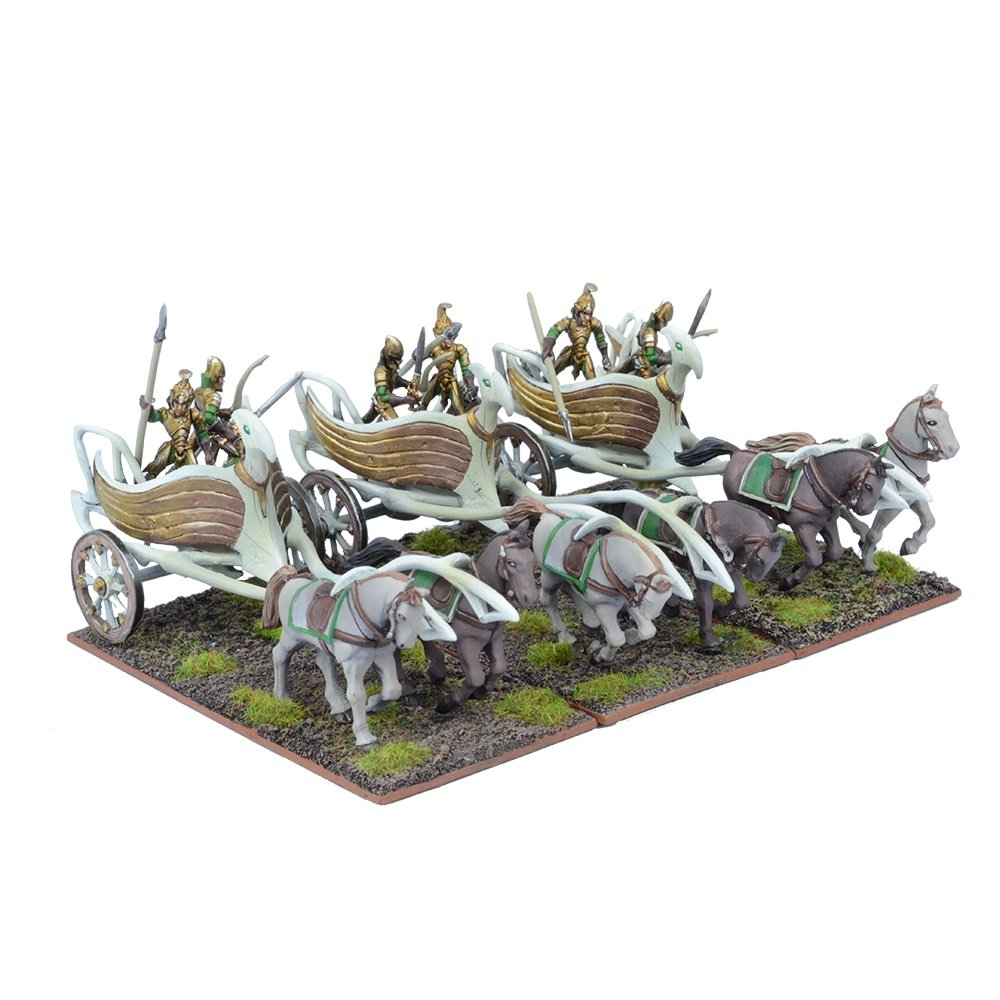 Kings of War  Elf War Chariot Regiment