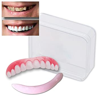 Amazon cosmetic teeth large natural uppers only arrives cosmetic teeth large natural uppers only arrives flat fit at solutioingenieria Gallery