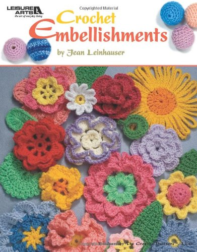 Crochet  Big Book Of Thread Ornaments  Patterns  Soft Cover Leisure Arts