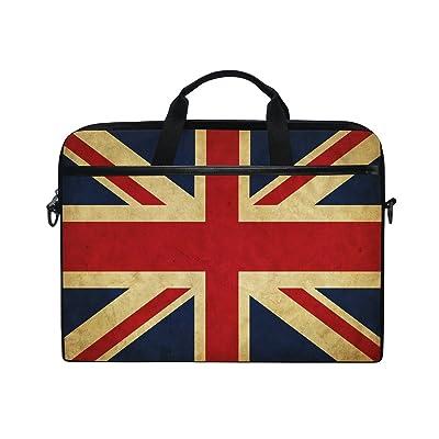 50%OFF ALAZA Grunge United Kingdom Great Britain Flag 15 15.6 inch Laptop  Shoulder Messenger 2cac0ffe4e