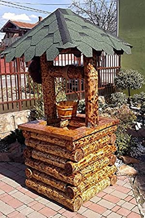 Casa Padrino Garden Fountains Rustic with Bailer Mod G2 - Oak ...