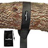 EASY HANG TREE SWING STRAP (4FT) HOLDS 1000 lbs. - Simple Instructions Included - Extra Strong Carabiner Hook - Perfect For Tire and Disc Swings - 100% Waterproof - Great for your Kids or Grandkids offers