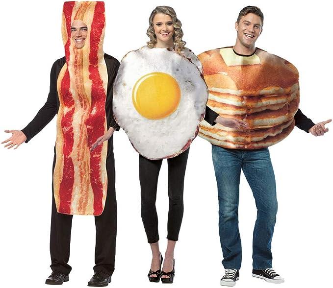 Future Memories Set de trío de Disfraces de Desayuno – Bacon ...