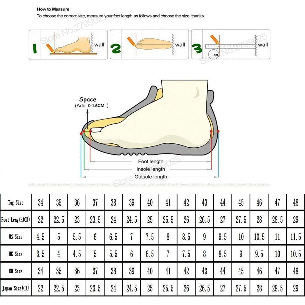Oudan Herren Martin Martin Martin Stiefel Casual Inside Zip Front Schnürsenkel Mit Cool Herbst Winter High Top Reiter Schuhe (Farbe   Schwarz, Größe   41 EU) (Farbe   Schwarz und weiß, Größe   44 EU) 997739