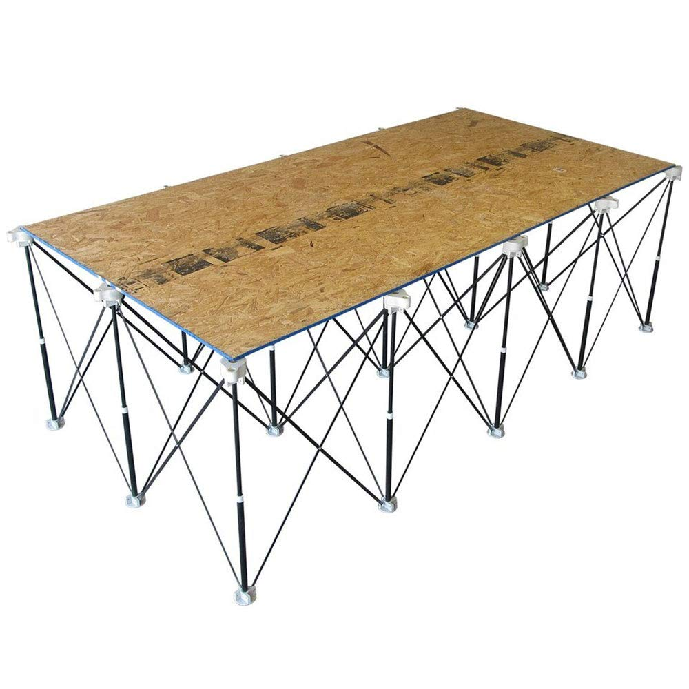 Bora Centipede 4x8 Feet Work Stand and Portable Table | XL Sawhorse Support with Folding, Collapsible Steel Legs, CK15S by Bora