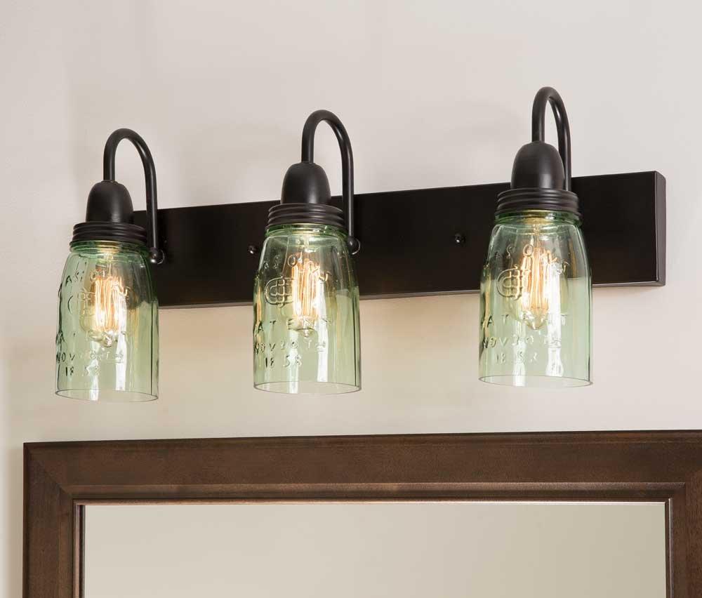 CTW Mason Jar Vanity Lamp
