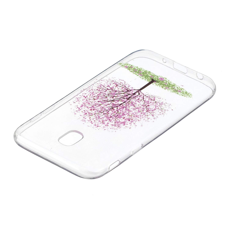 Ultra Fine pour Samsung Galaxy J7 2017 // J730- Anti Choc Ultra L/éger Manga BONROY Coque Transparente Silicone Gel TPU Souple Housse Etui de Protection Bumper