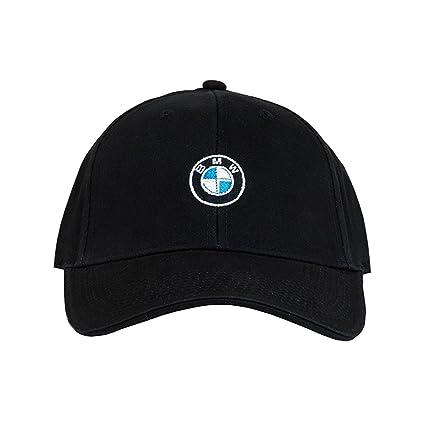 e3b996c5812 Amazon.com  BMW Roundel Cap - Black  Automotive
