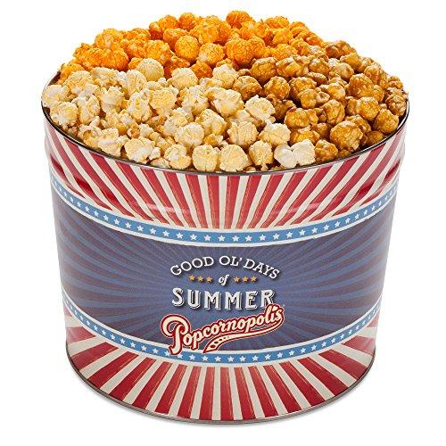 popcorn tin 2 gallon - 1