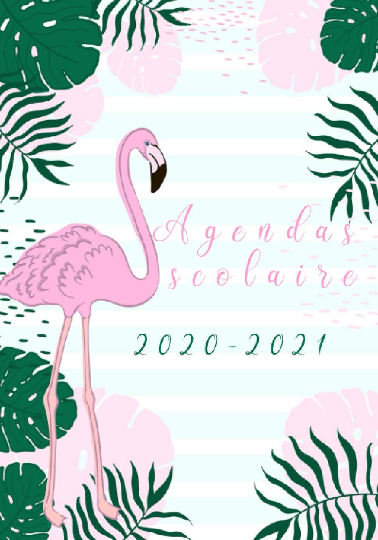 Agendas scolaire 2020 2021: agenda semainier et journalier animaux