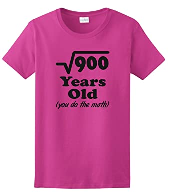Birthday Gifts All Clothes Funny 30 Years Old You Do The Math Ladies