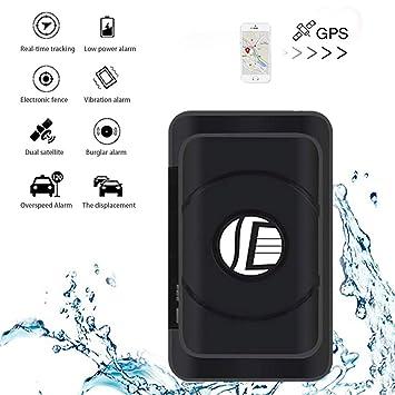 Likorlove - Rastreador GPS de 3 Meses en Tiempo Real para Coche con imán Fuerte para vehículo, Coche, camión, posicionamiento en Tiempo Real, ...