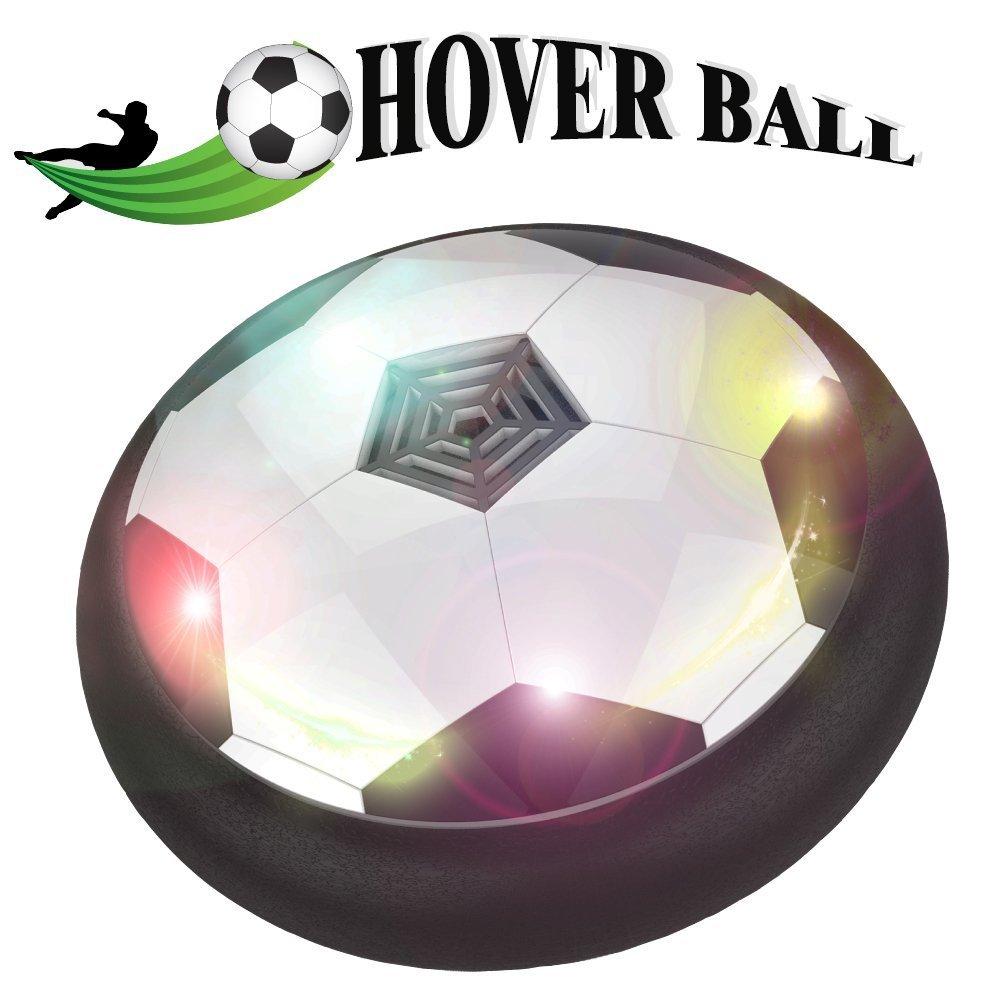 togyoo Hover BallエアパワーサッカーディスクFootballセットforキッドBoys Girls Giftsインドアアウトドアゲームwith LED lights B07BGVWPPX