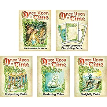 Amazon.com: Once Upon A Time Card Game Bundle with Base Game and 4 ...