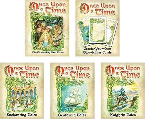 Once Upon A Time Card Game Bundle with - Once Upon A Time Board Game