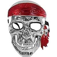 Kullan At Market KM-PRT-0339 Gümüş Korsan Maske