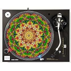 Psychedelic Mandala DJ Turntable Slipmat