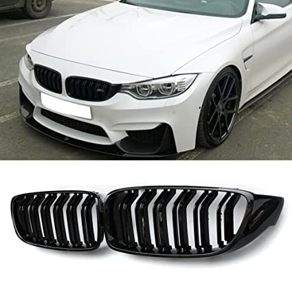 a79580fea250 Amazon.com  Front Grill Grilles Kidney Grill Replacement for BMW 4 Series  F32 F33 F36 F80 F82(ABS