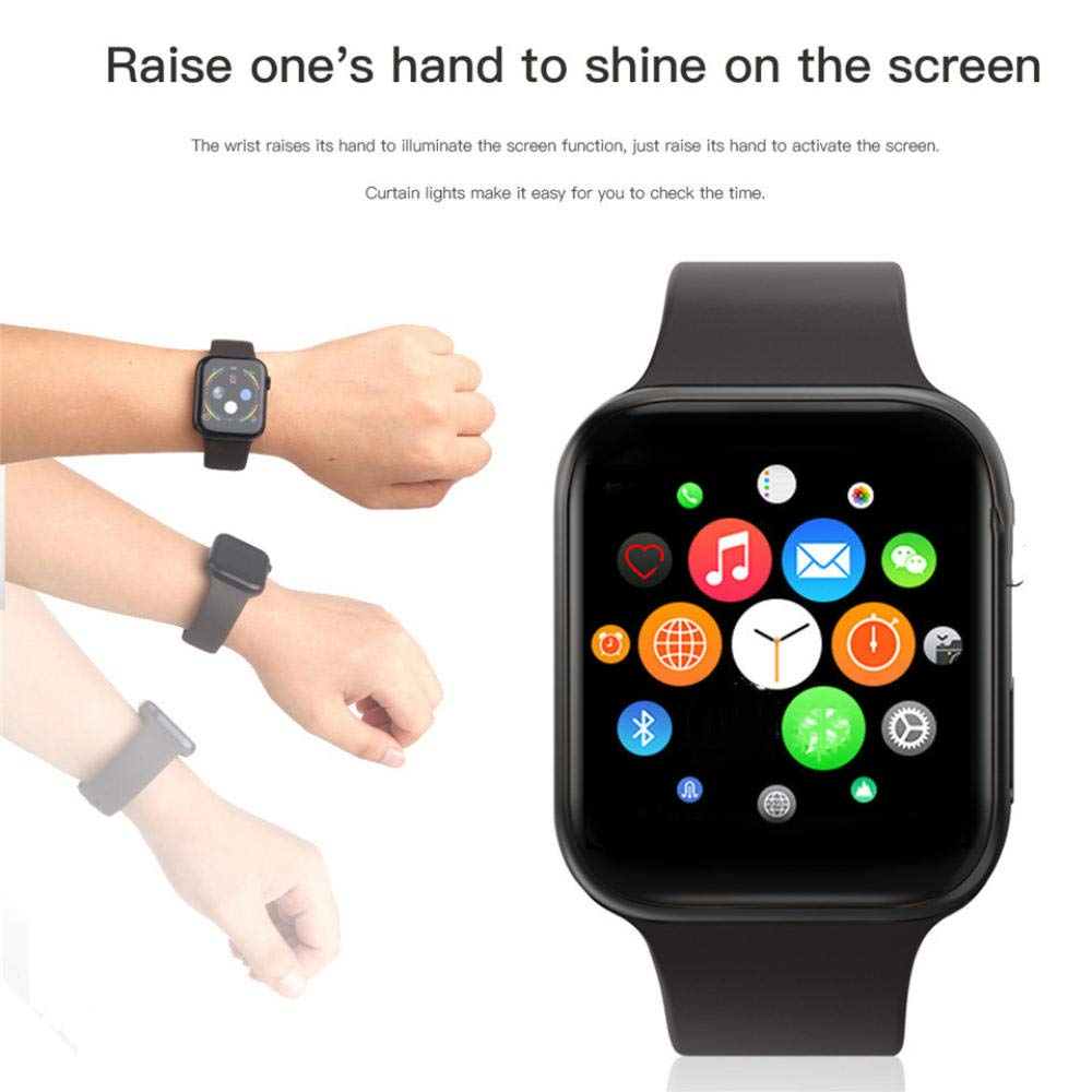 QJWVVLLL IWO 11 GPS Bluetooth Smart Watch 1: 1 SmartWatch 44mm ...