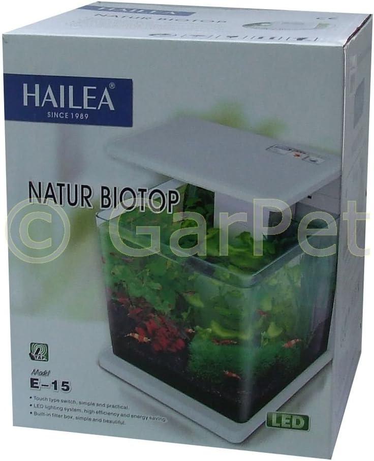 ICA E15 Nano Acuario Biotop Deluxe Natur Crema